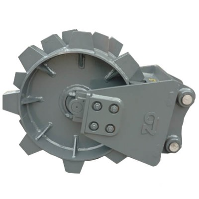 Excavator Compaction Wheels