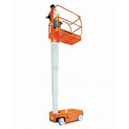 MANLIFT 3.7M - 12FT - SELF PROPELLED - ELECTRIC