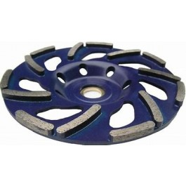 METEOR DIAMOND CUP 40 GRIT SOFT CONCRETE (BLUE) - HIRE 1MM FREE
