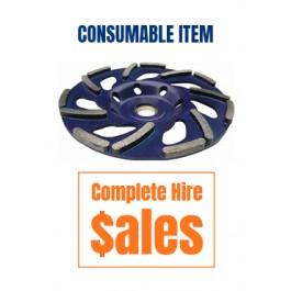 DIAMOND CUP - METEOR 40 GRIT SOFT CONCRETE (BLUE) (sales item)