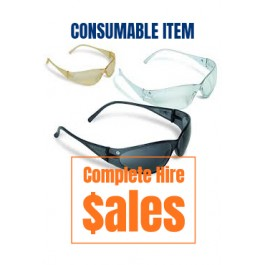 SAFETY - GLASSES (CLEAR OR SHADED)