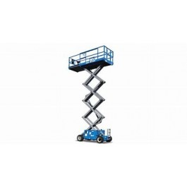 SCISSOR LIFT - 7.6M - 26FT - 4X4 - DIESEL