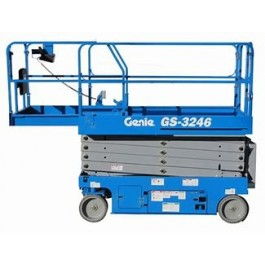 SCISSOR LIFT - 9.8M - 32FT - ELECTRIC