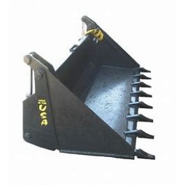 SKID STEER BUCKET 4-IN-1 NARROW S70