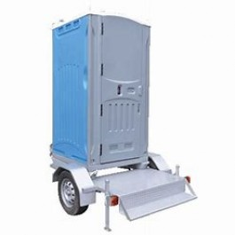 TOILET - TRAILER MOUNTED - FRESH FLUSH - SERVICED FORTNIGHTLY