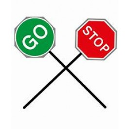 SIGN - STOP / SLOW