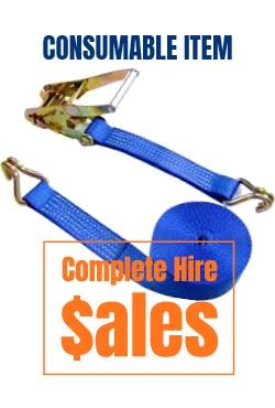 2 ton ratchet strap-for sale Complete Hire Sydney
