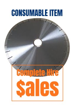 350mm 14 inch Sand stone Diamond Blade - for sale Complete Hire Sydney