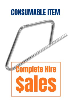 Air hose safety clips-  for sale Complete Hire Sydney