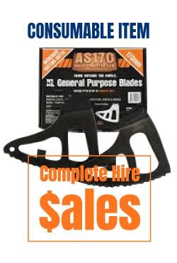 Allsaw arbortec standard blades - for sale Complete Hire Sydney