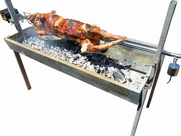 BBQ SPIT - CHARCOAL for hire in Sydney from Complete Hire