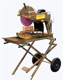 BRICK SAW 350MM - ELECTRIC - EXT TRAY for hire in Sydney from Complete Hire
