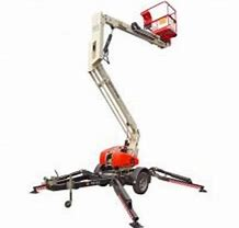 CHERRY PICKER - 12.3M - 34FT - TRAILER MOUNT - PETROL  for hire in Sydney from Complete Hire