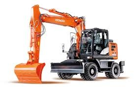 EXCAVATOR 14.0T HITACHI - zx140w WHEELED -CABIN for hire in Sydney from Complete Hire