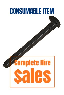Deck PIn - for Road plates - for sale Complete Hire Sydney