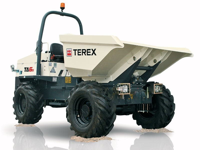 DUMP TRUCK 6.0T PAYLOAD TEREX for hire in Sydney from Complete Hire