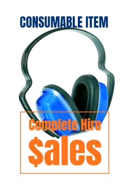 Ear Muffs - for sale Complete Hire Sydney