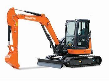 EXCAVATOR 5.5T HITACHI - CABIN - RUBBER TRACK for hire in Sydney from Complete Hire