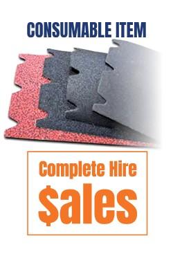 Floor sanding sheets - for sale Complete Hire Sydney