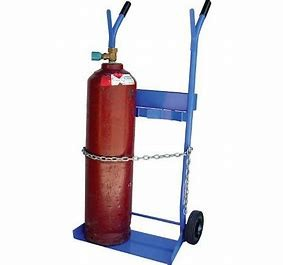 GAS - TROLLEY - E SIZE BOTTLES for hire in Sydney from Complete Hire