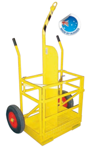GAS - TROLLEY - G SIZE BOTTLES for hire in Sydney from Complete Hire