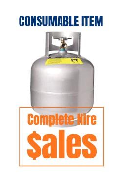 GAS BOTTLE 9KG - for sale Complete Hire Sydney