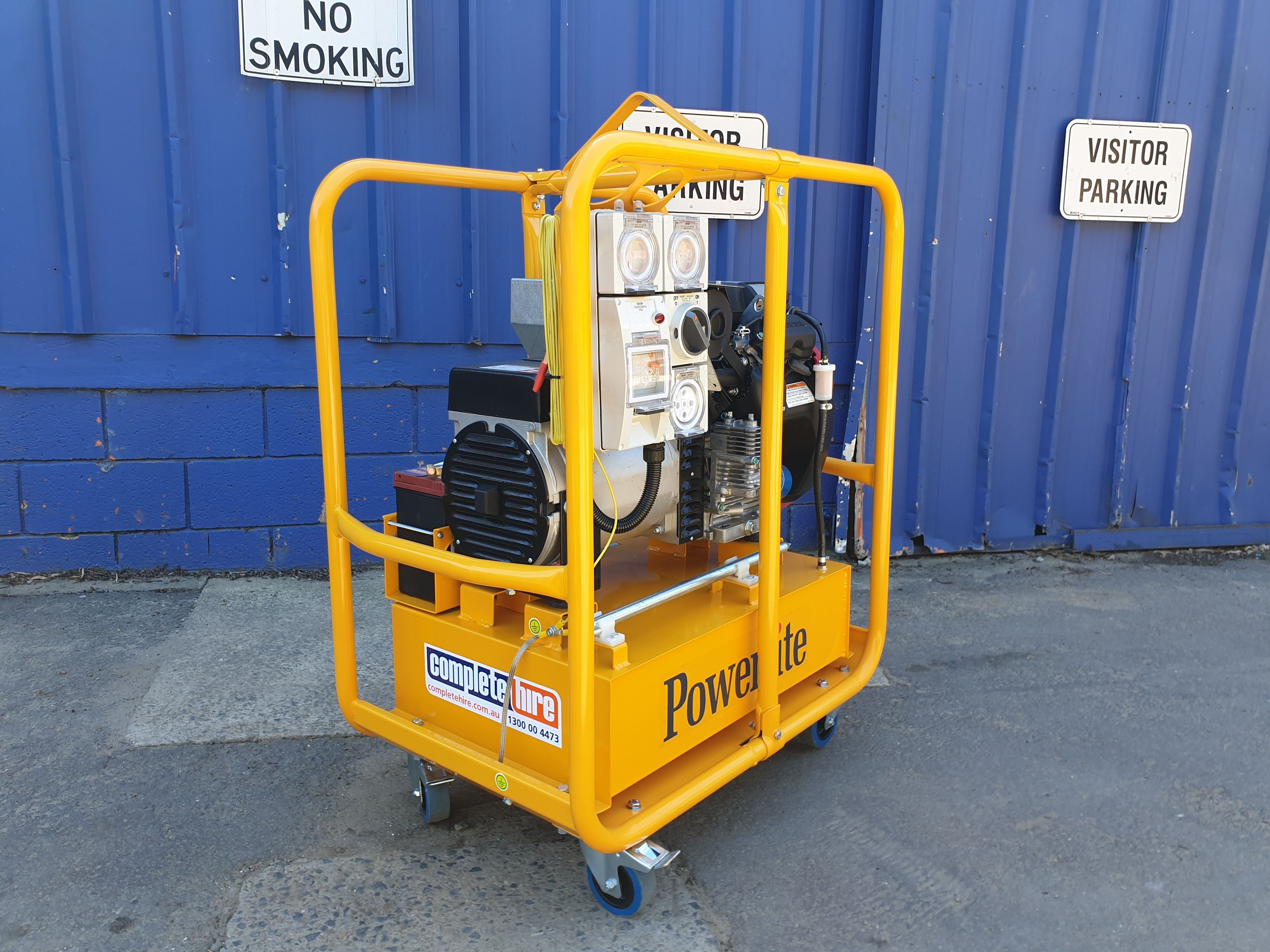 GENERATOR 15.0 KVA PETROL for hire in Sydney from Complete Hire