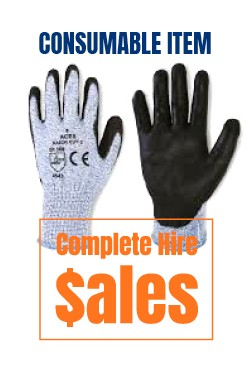 Gloves razor - for sale Complete Hire Sydney