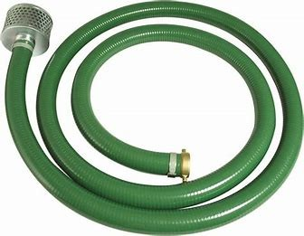 HOSE 75MM - 3 INCH SUCTION WITH STRAINER for hire in Sydney from Complete Hire