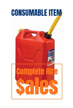 JERRY CAN 20L - ULP -  for sale Complete Hire Sydney