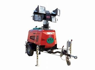 LIGHT - TOWER 4000 WATT - COMPAIR for hire in Sydney from Complete Hire