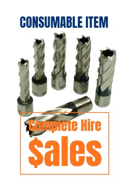 Mag drill Broach - for sale Complete Hire Sydney