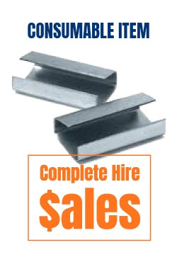metal strapping clips - for sale Complete Hire Sydney