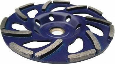 METEOR DIAMOND CUP 40 GRIT SOFT CONCRETE (BLUE) - HIRE 1MM FREE for hire in Sydney from Complete Hire