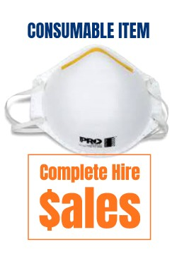 P2 Dust mask - for sale Complete Hire Sydney