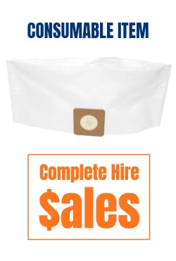 Pullman disposable vacuum bags - for sale Complete Hire Sydney