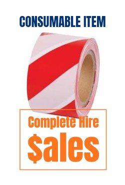 Safety Danger tape- for sale Complete Hire Sydney