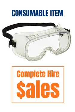Safety goggles -  for sale Complete Hire Sydney
