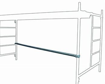 SCAFFOLD - ALLOY - PLAN BRACE SINGLE WIDTH for hire in Sydney from Complete Hire