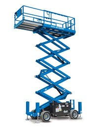 SCISSOR LIFT - 13.1M - 43FT - 4X4 - DIESEL rough terrain for hire in Sydney from Complete Hire