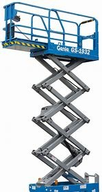SCISSOR LIFT - 5.8M - 19FT - ELECTRIC for hire in Sydney from Complete Hire