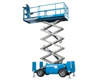 SCISSOR LIFT - 9.8M - 32FT - 4X4 - DIESEL for hire in Sydney from Complete Hire