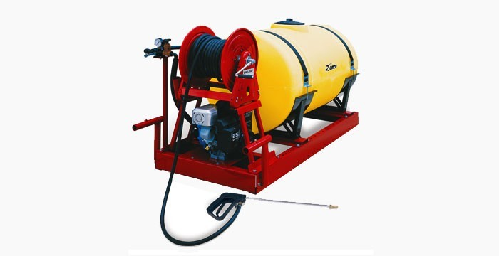 TANK - AGRICULTURE SPRAY 600 LITRE - SKID for hire in Sydney from Complete Hire