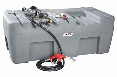 TANK - DIESEL 1000 LITRE - SKID for hire in Sydney from Complete Hire