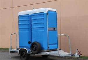 TOILET - TRAILER MOUNTED - FRESH FLUSH - DUAL TOILET for hire in Sydney from Complete Hire