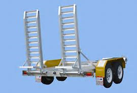 TRAILER - PLANT LIGHTWEIGHT- NARROW for hire in Sydney from Complete Hire