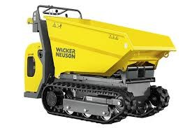 Wacker narrow dump truck DT08 800kg high lift for hire in Greater Sydney from Complete Hire