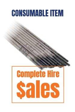 Welding rods 10 pack - for sale Complete Hire Sydney