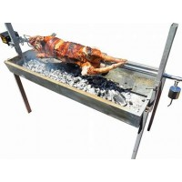 BBQ SPIT - CHARCOAL