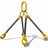 CHAIN 4 LEG LIFTING 8MX 1M